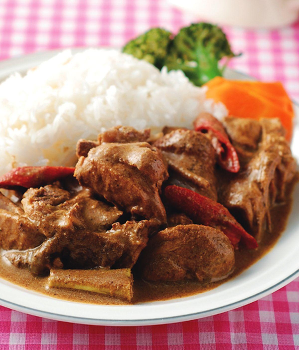 食譜:優格咖哩雞飯