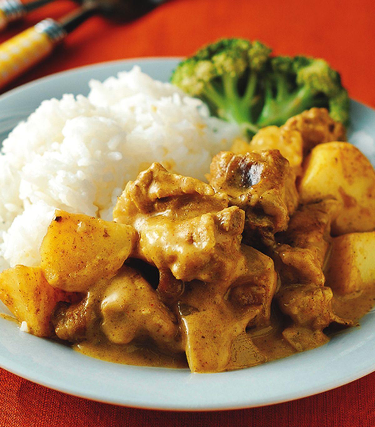 食譜:娘惹咖哩排骨飯