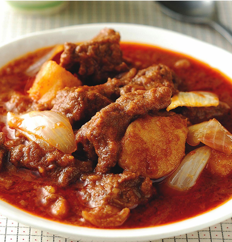 食譜:瑪莎曼咖哩牛肉飯