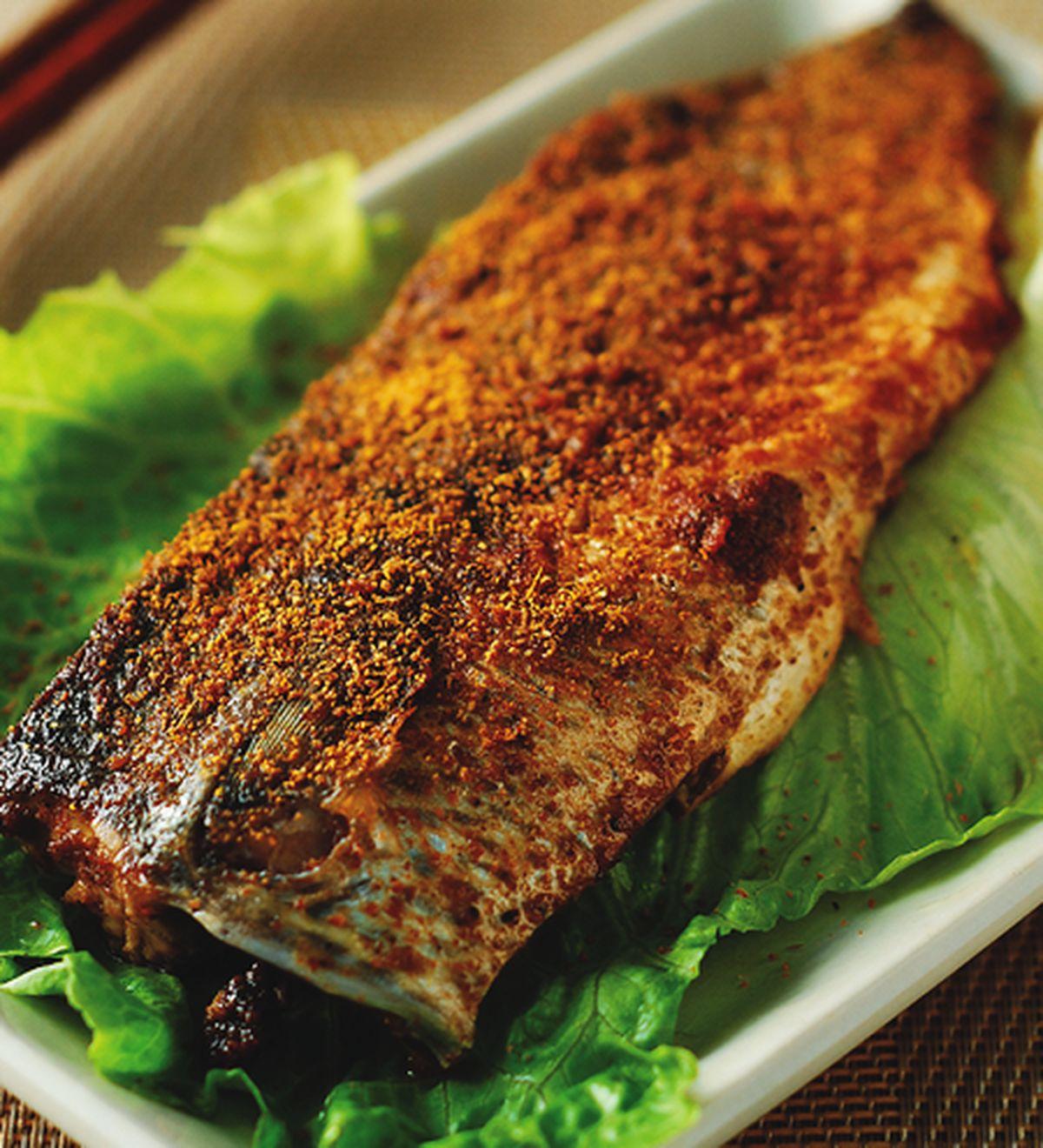食譜:咖哩烤魚椰奶飯