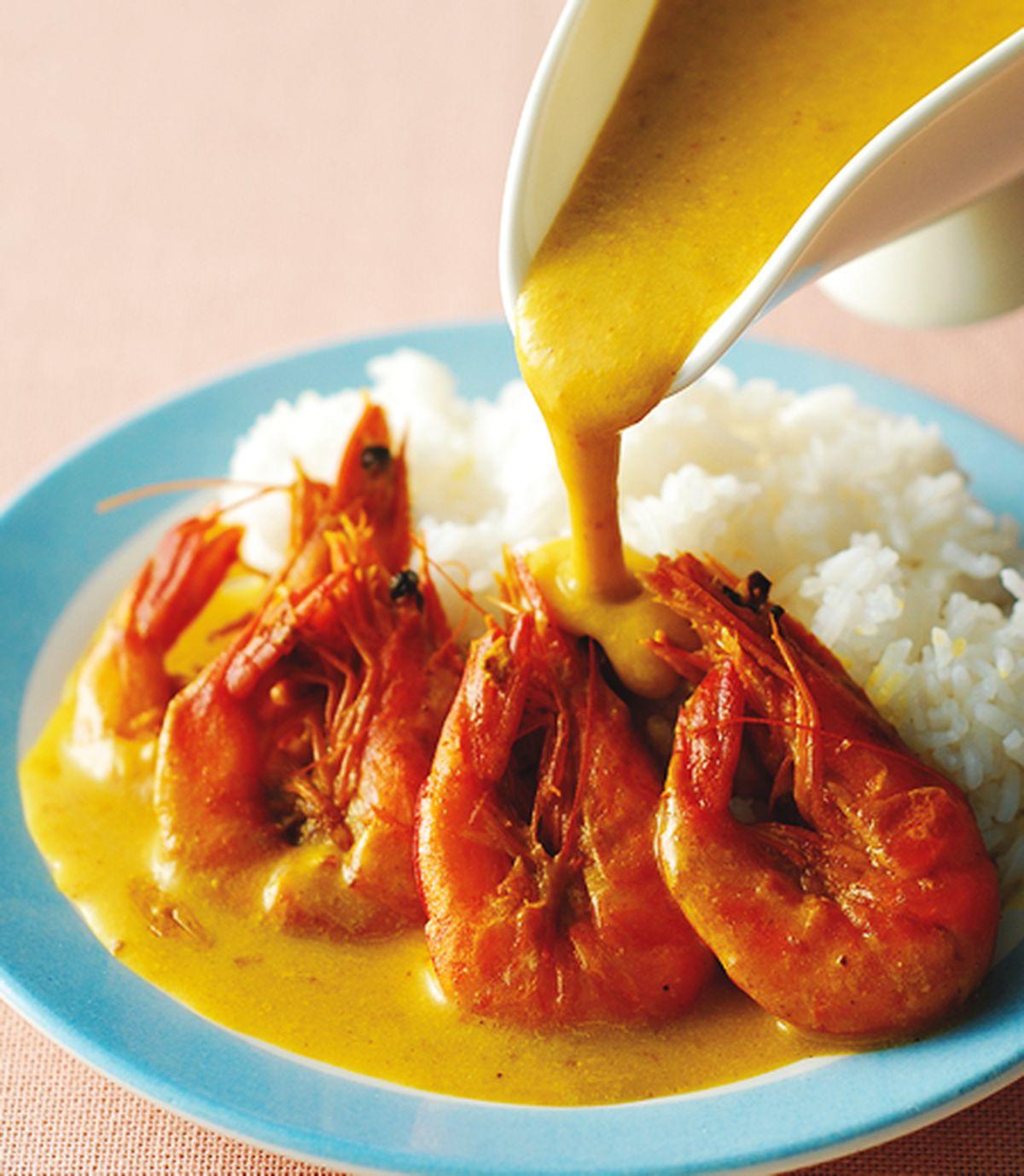 食譜:椰奶草蝦飯