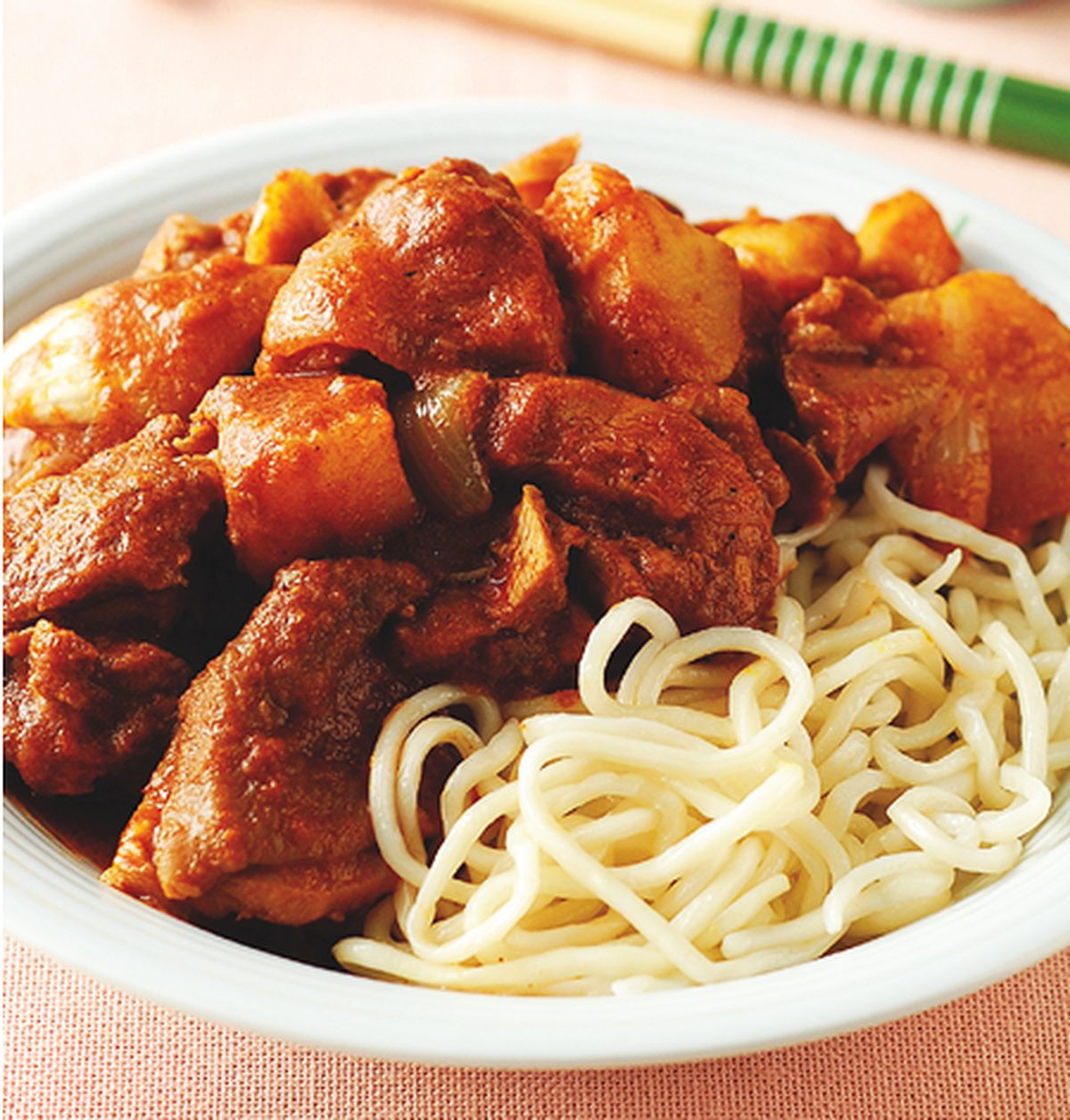 食譜:馬來咖哩雞麵