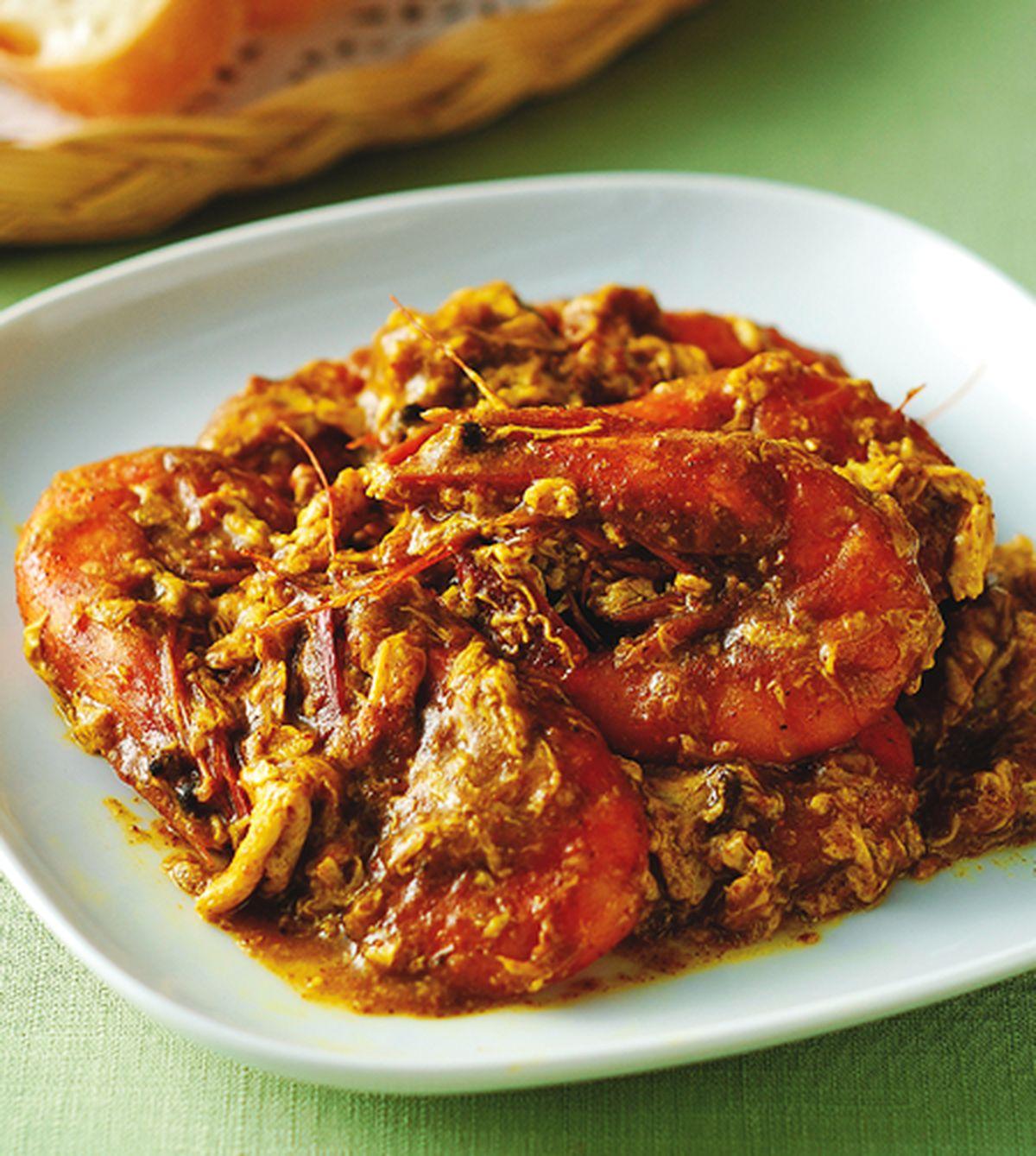 食譜:泰式咖哩蝦麵包