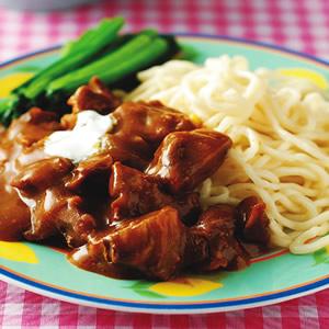 酸奶羊肉咖哩麵