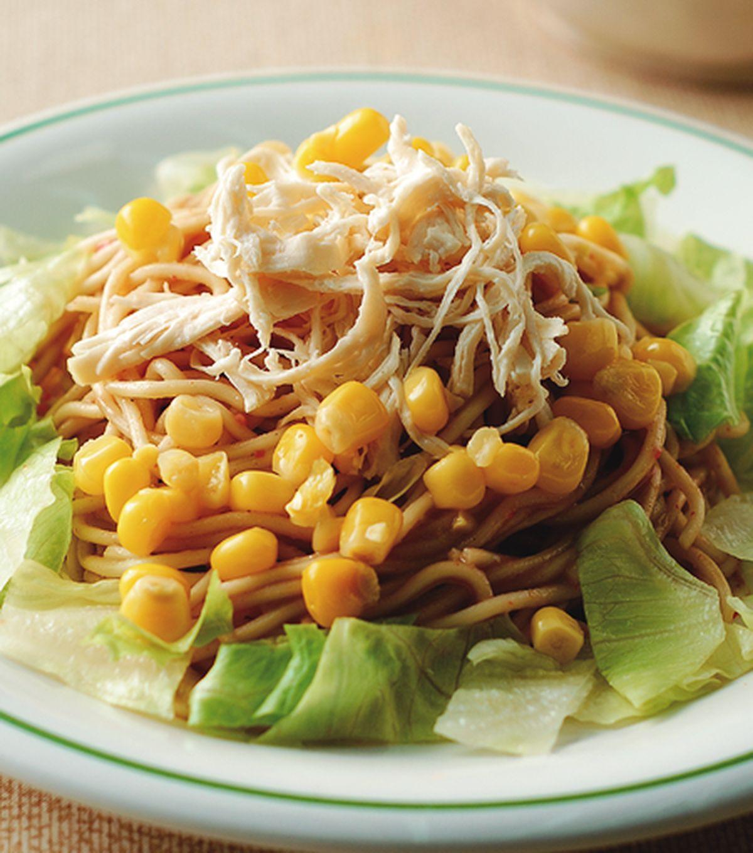 食譜:雞絲海鮮醬涼麵
