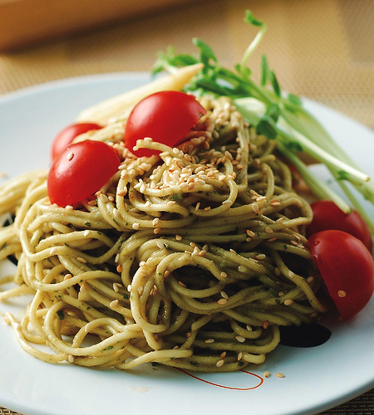 食譜:香椿涼麵(1)