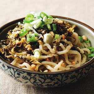 酸菜拌麵(1)