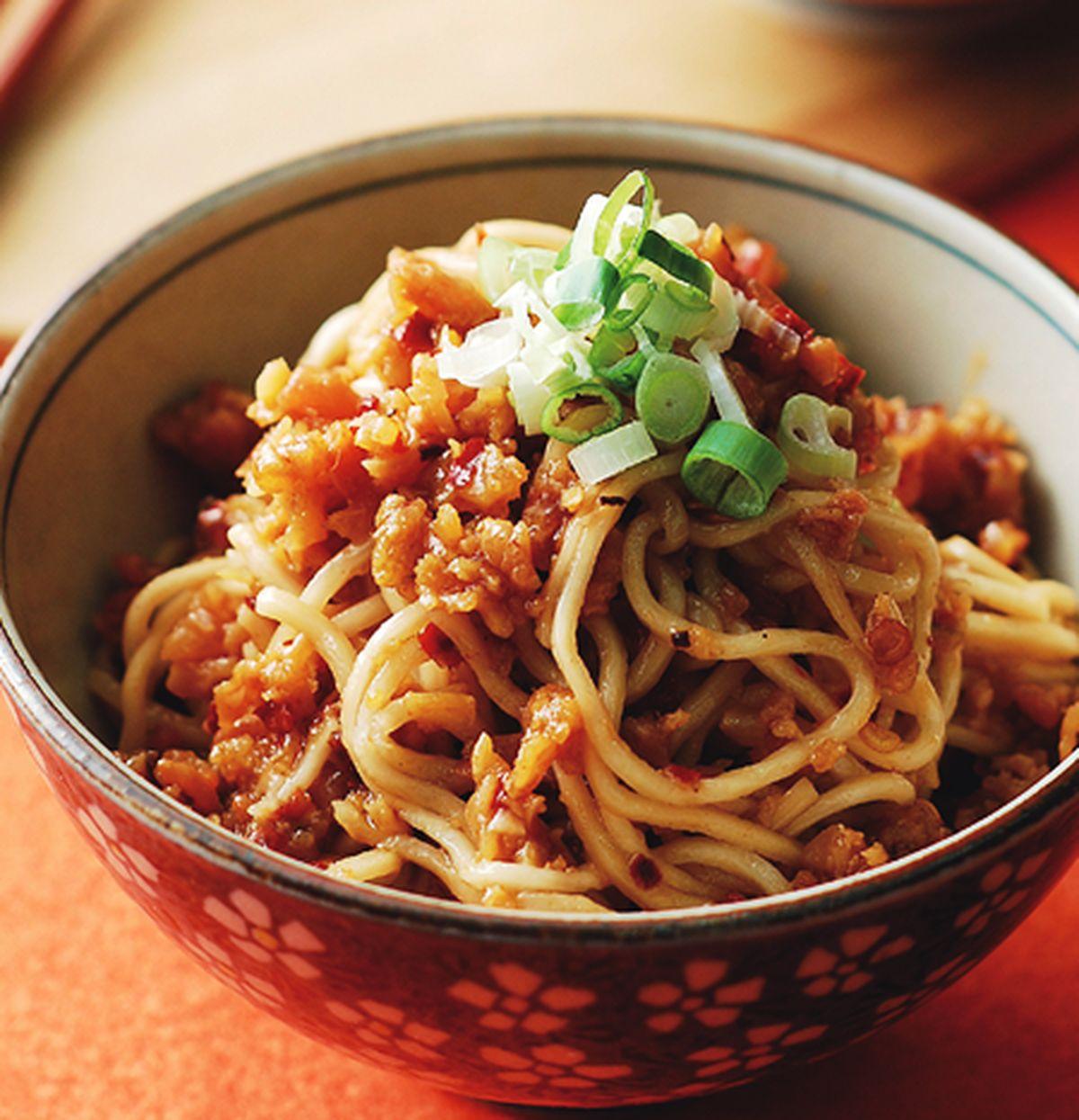 食譜:香辣雞醬拌麵