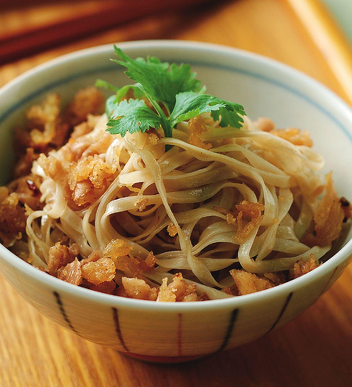 食譜:菜脯香鬆拌麵
