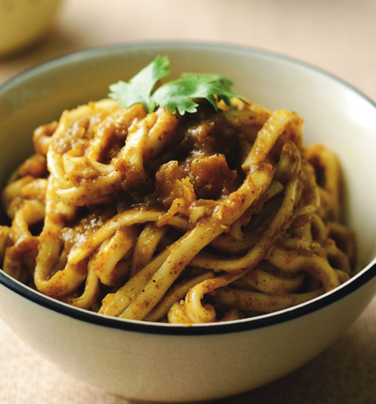 食譜:咖哩南瓜醬拌麵