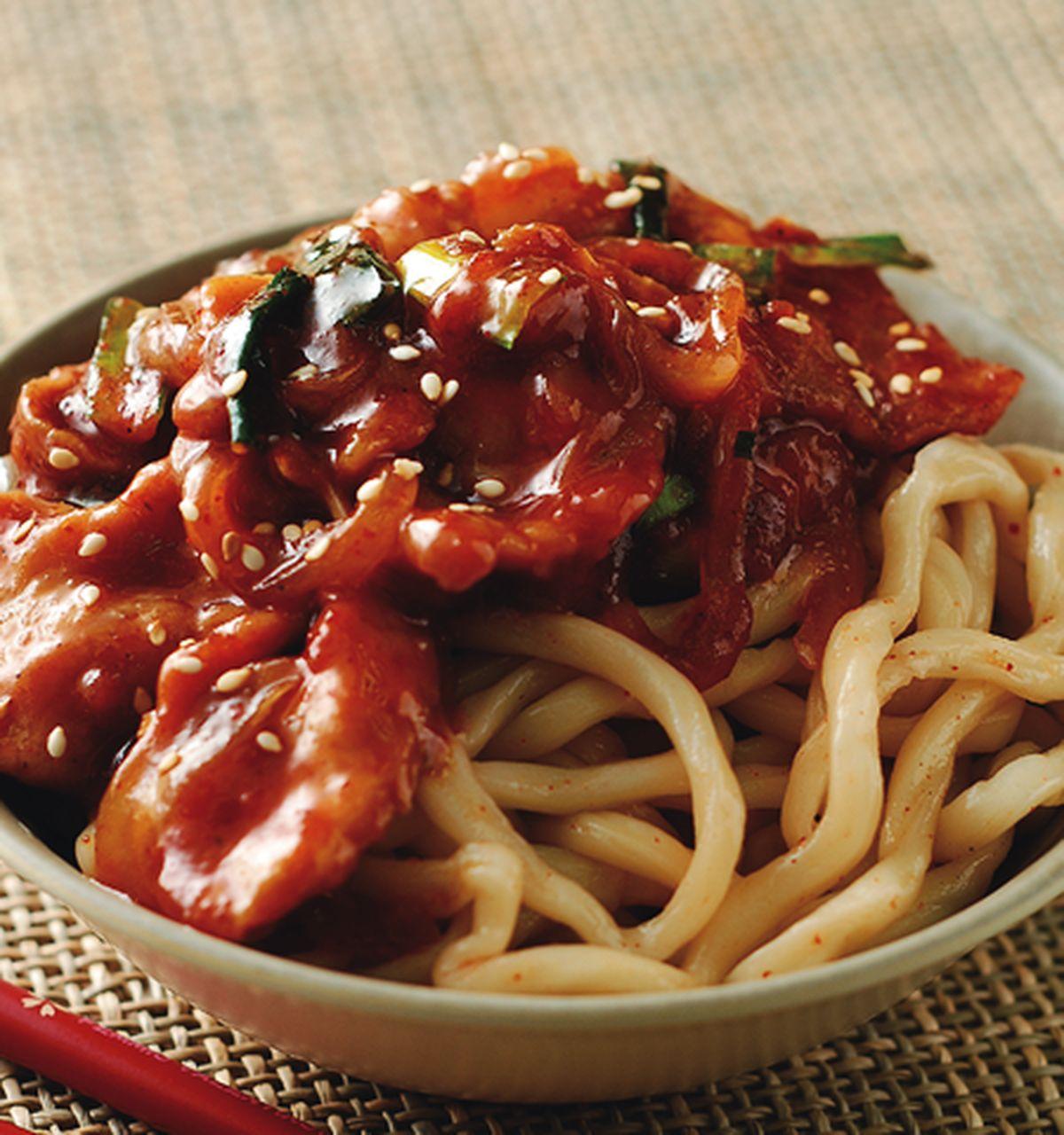 食譜:韓式燒肉拌麵
