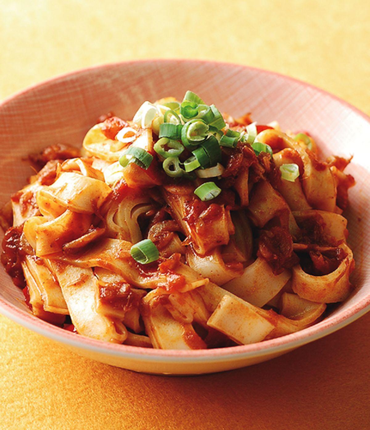 食譜:酸辣醬拌麵