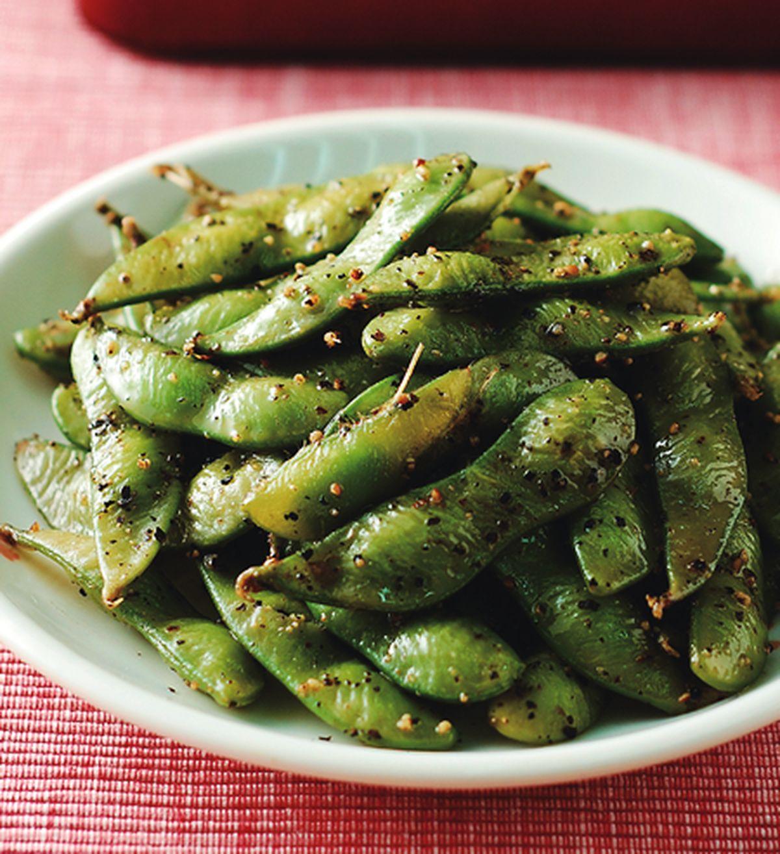食譜:黑胡椒毛豆