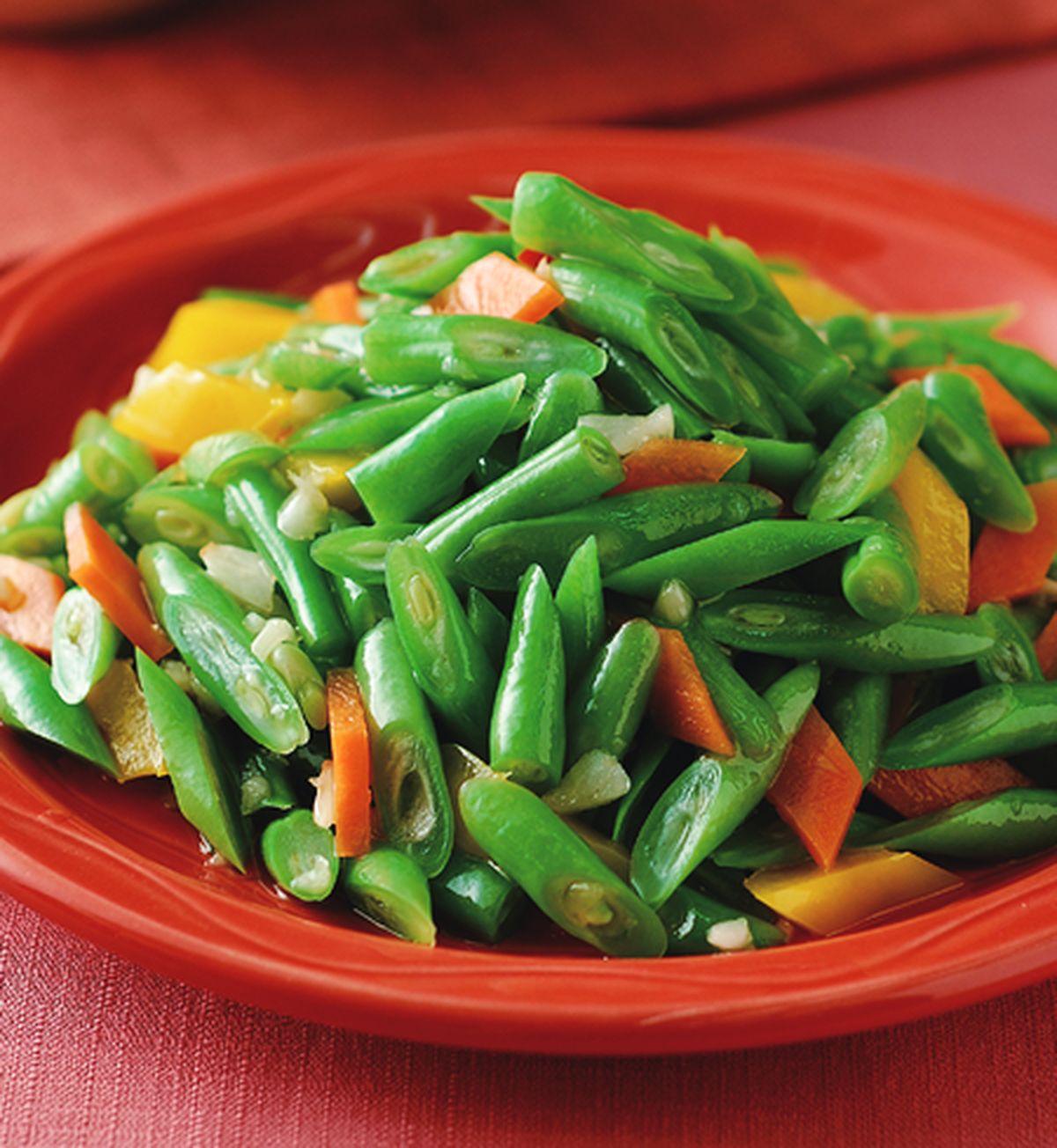 食譜:蒜味四季豆(1)