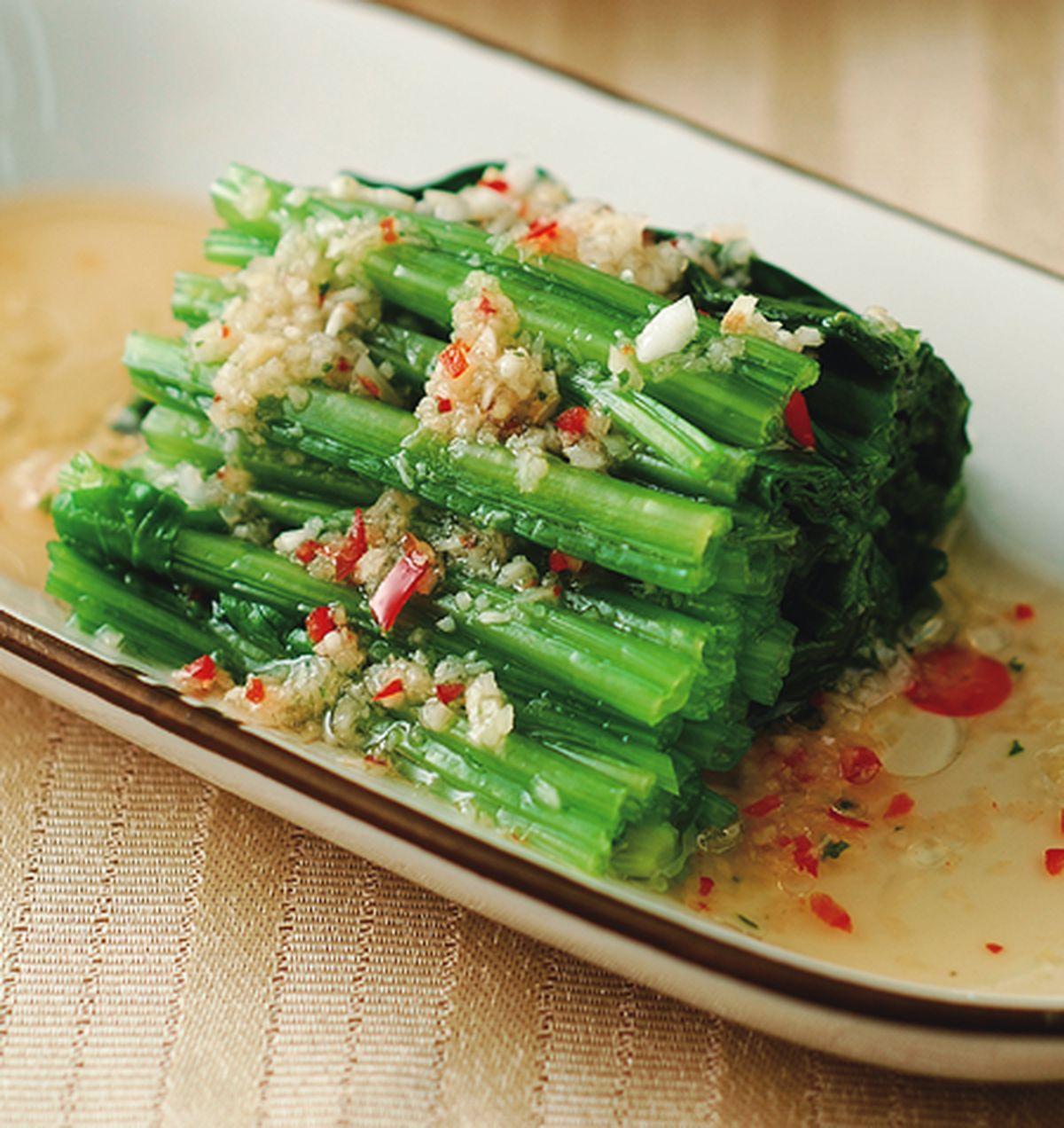 食譜:薑汁菠菜