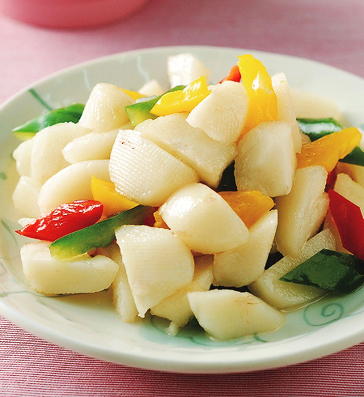 食譜:彩椒豆薯
