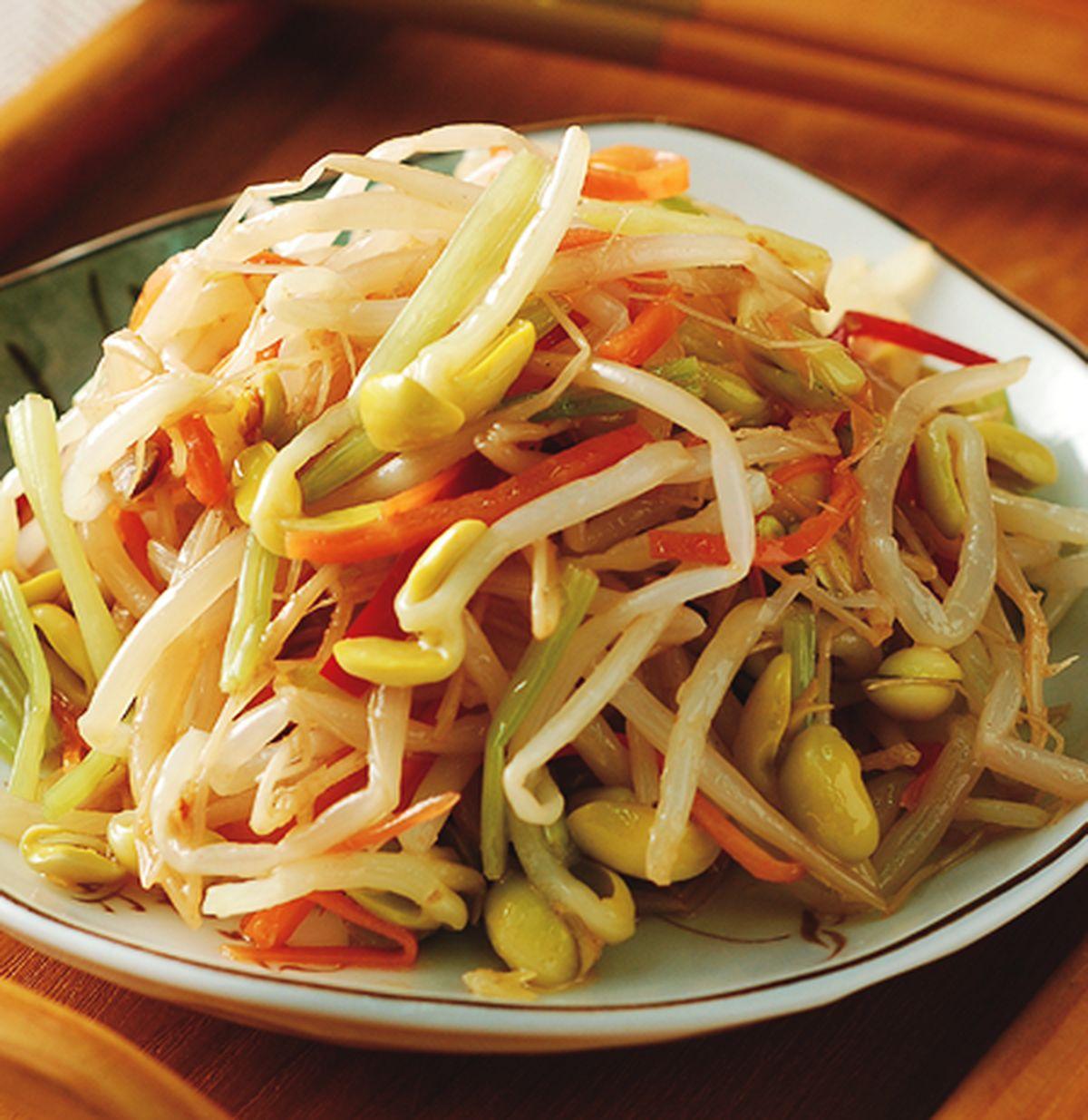 食譜:辣味黃豆芽