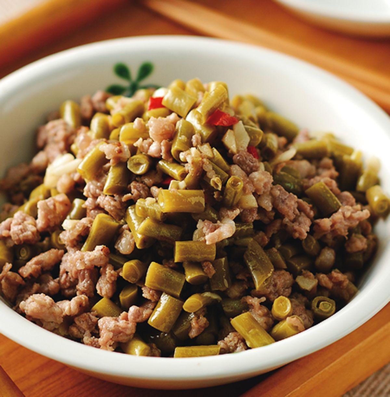 食譜:酸豆肉末