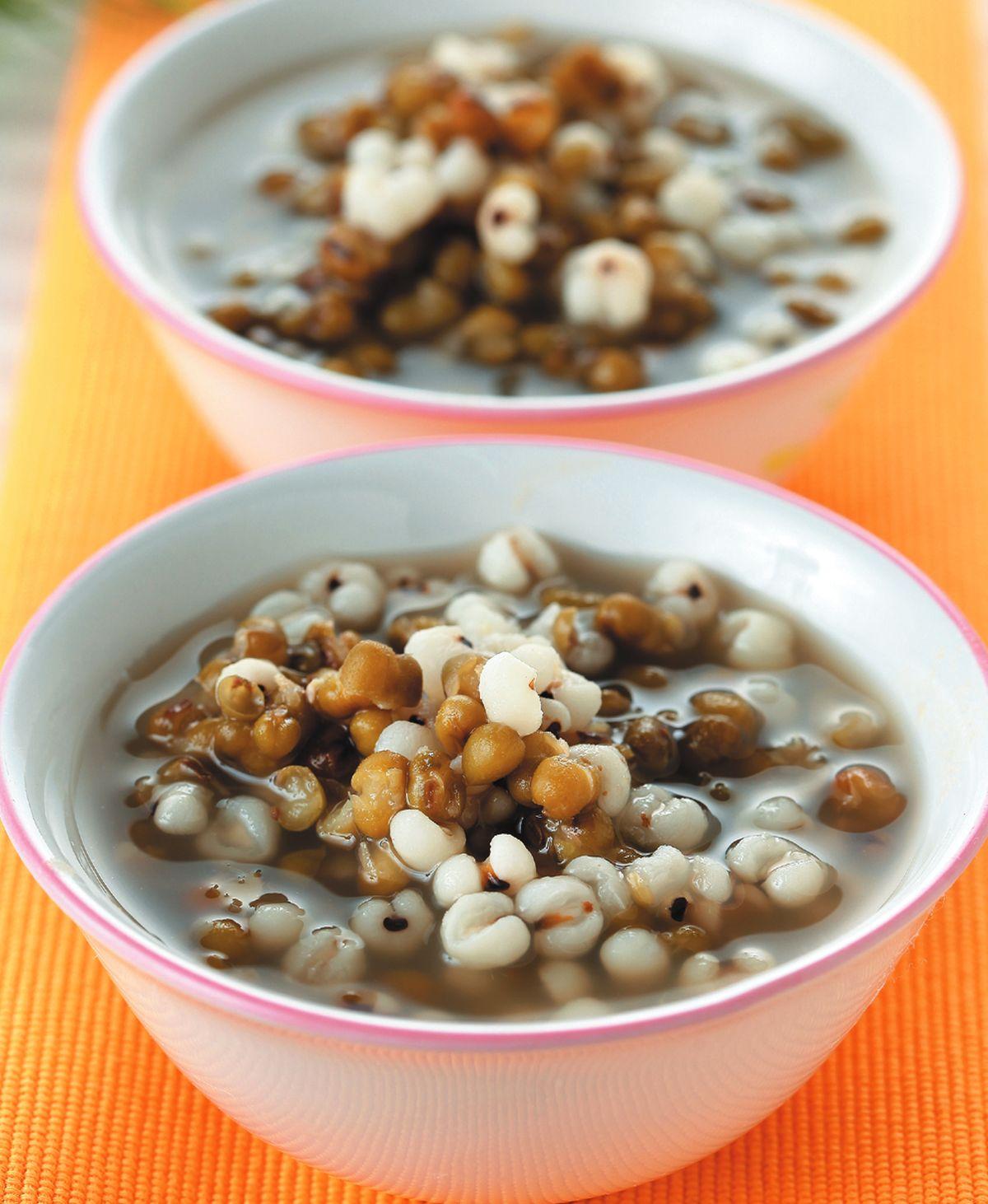 食譜:綠豆薏仁湯(2)