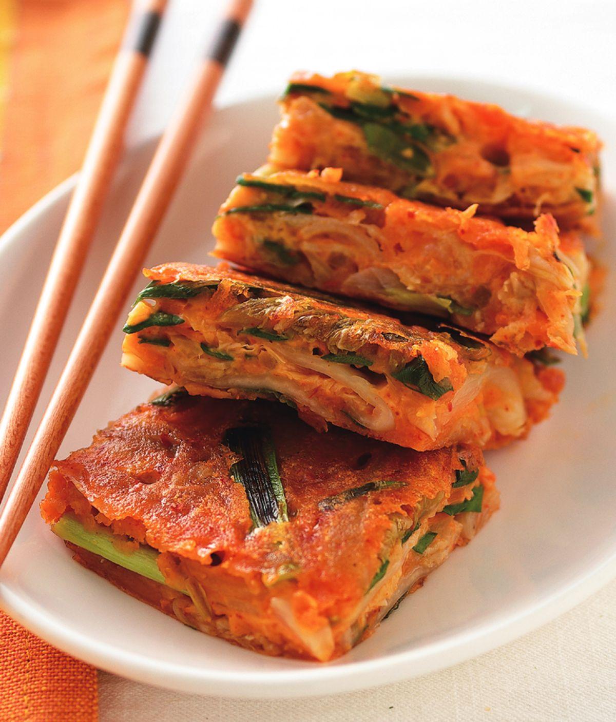 食譜:韓式泡菜煎餅