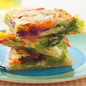 綜合野菜煎餅