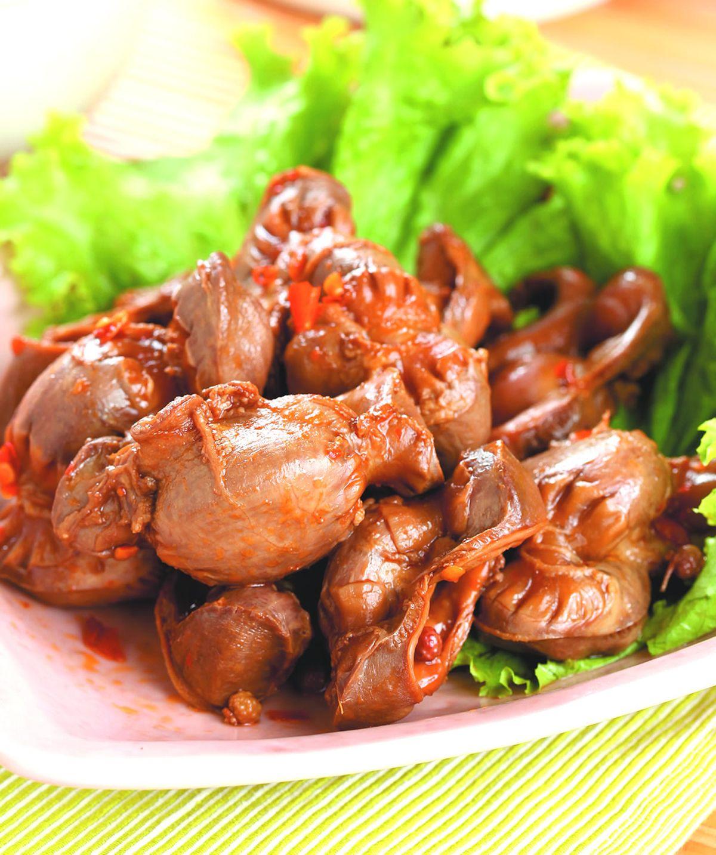 食譜:辣味雞胗(1)