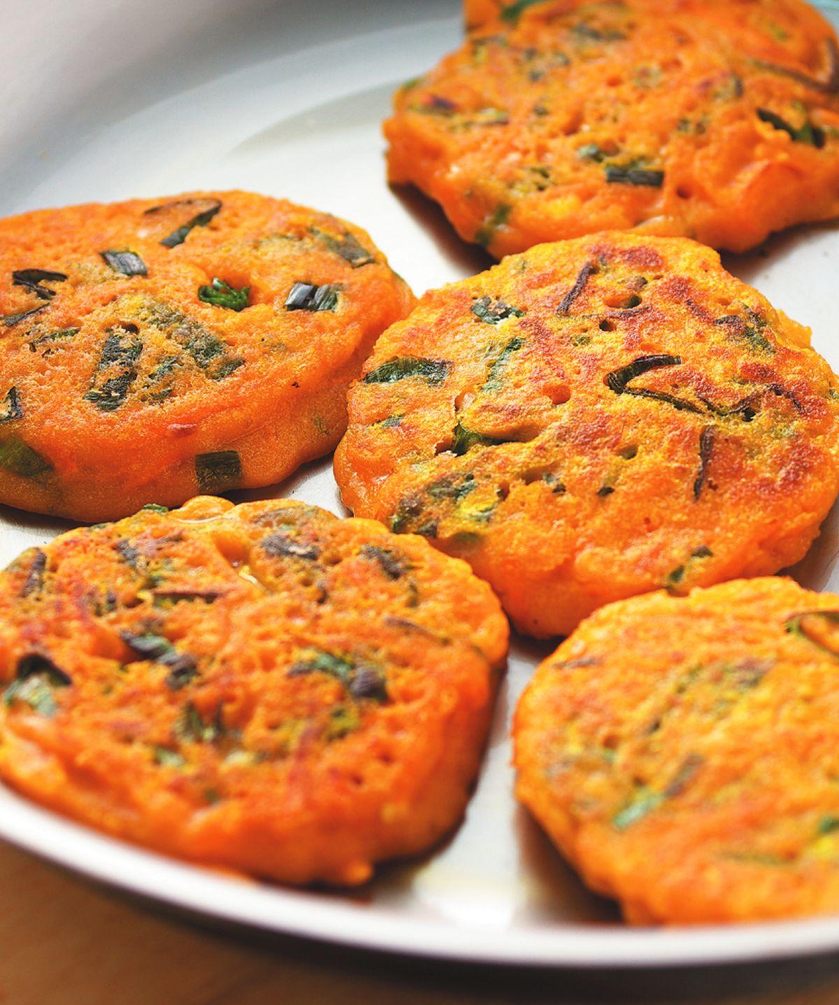 食譜:紅蘿蔔絲煎餅