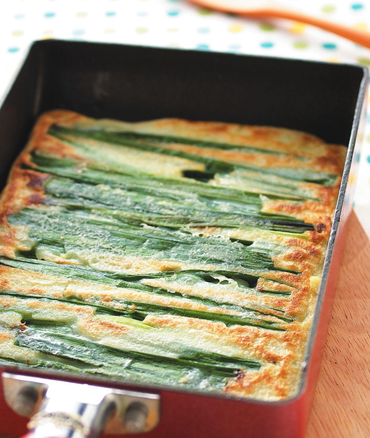 食譜:韭菜煎餅