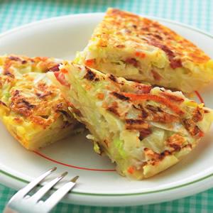 高麗菜培根煎餅(1)