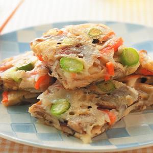 什錦鮮菇煎餅