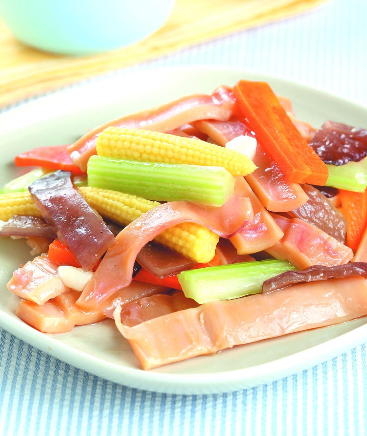 食譜:蔬菜魷魚