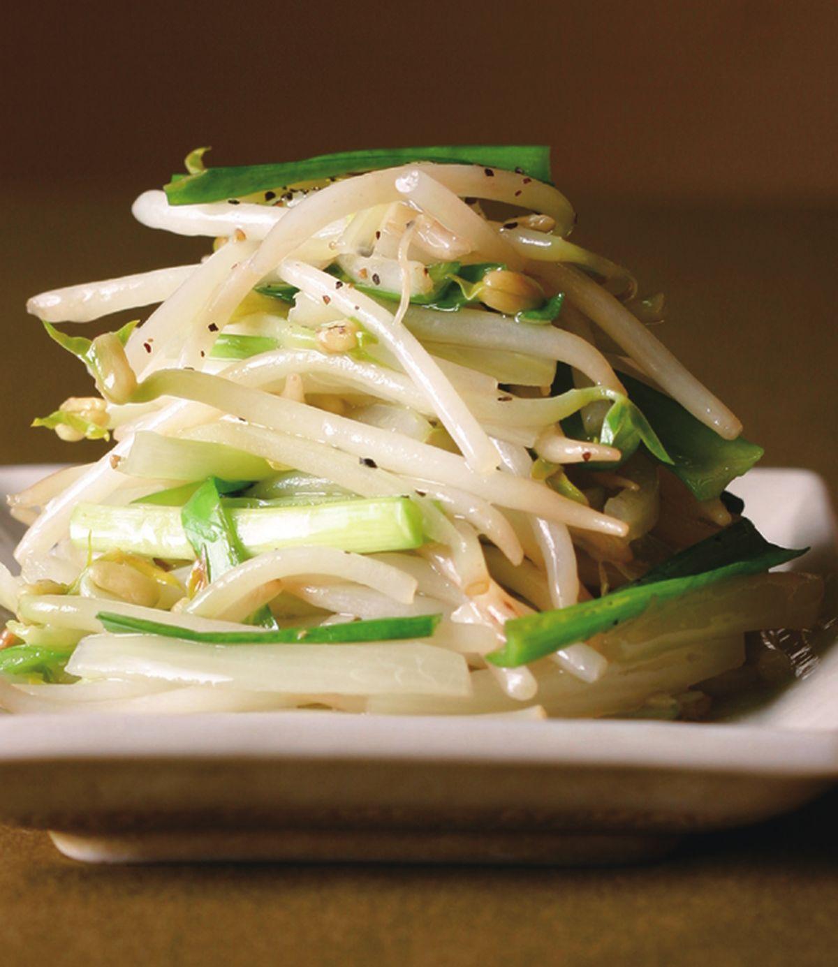 食譜:韭菜炒豆芽(1)