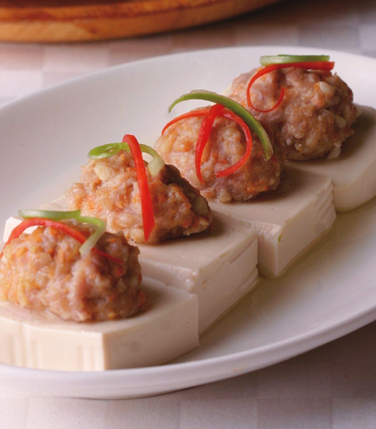 食譜:清蒸豆腐