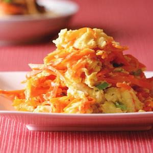 紅蘿蔔絲炒蛋