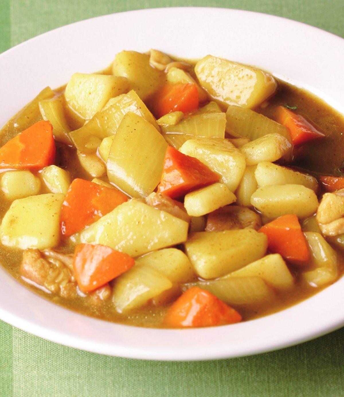 食譜:咖哩馬鈴薯