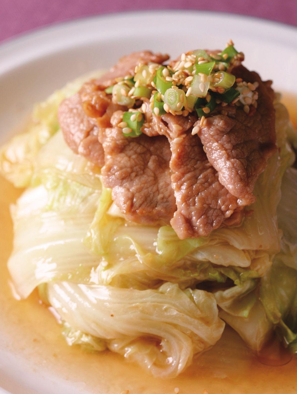 食譜:白菜燒肉