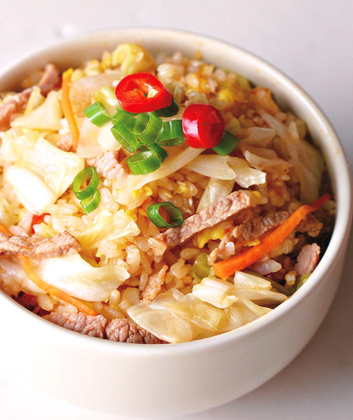 食譜:泡菜炒飯(3)