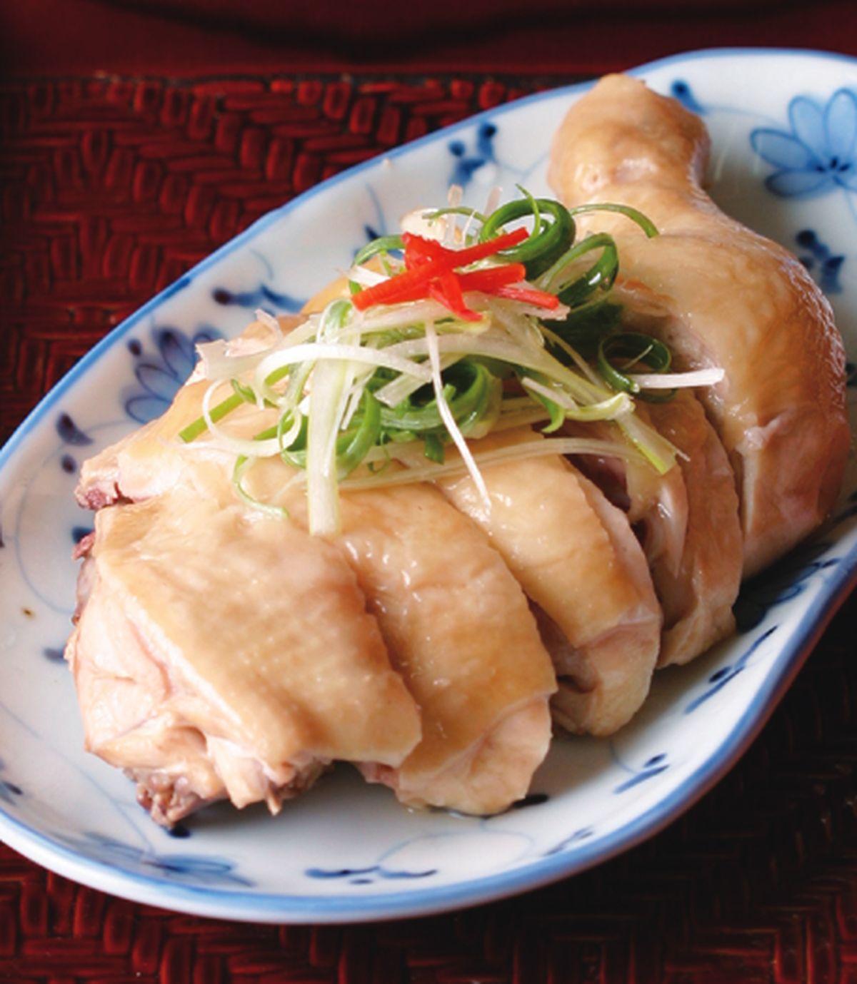 食譜:蔥油雞(11)