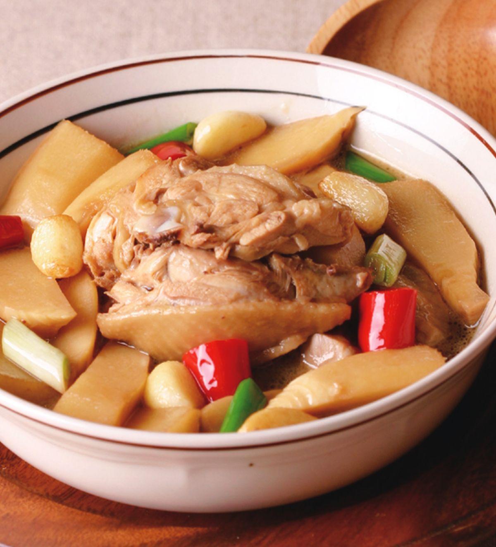 食譜:雞肉燒筍塊