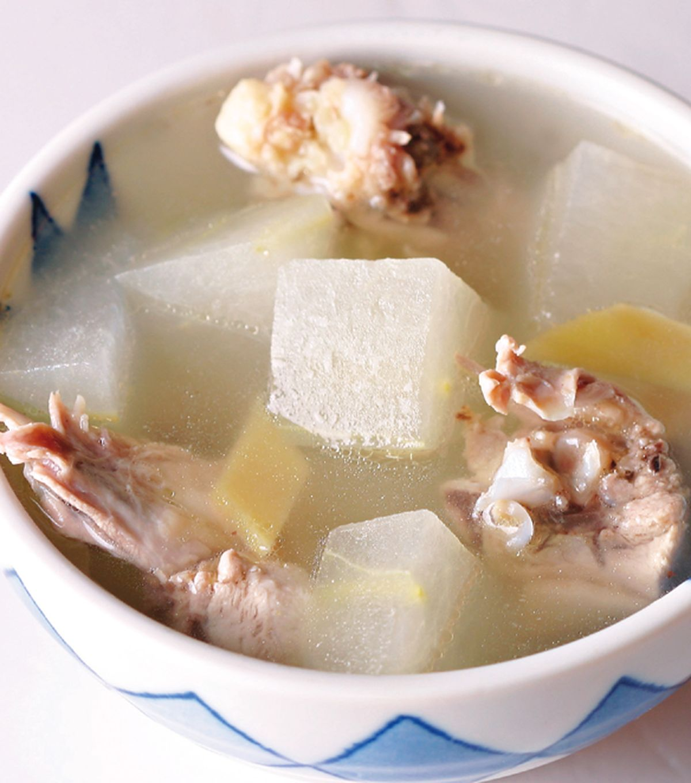 食譜:冬瓜雞骨湯
