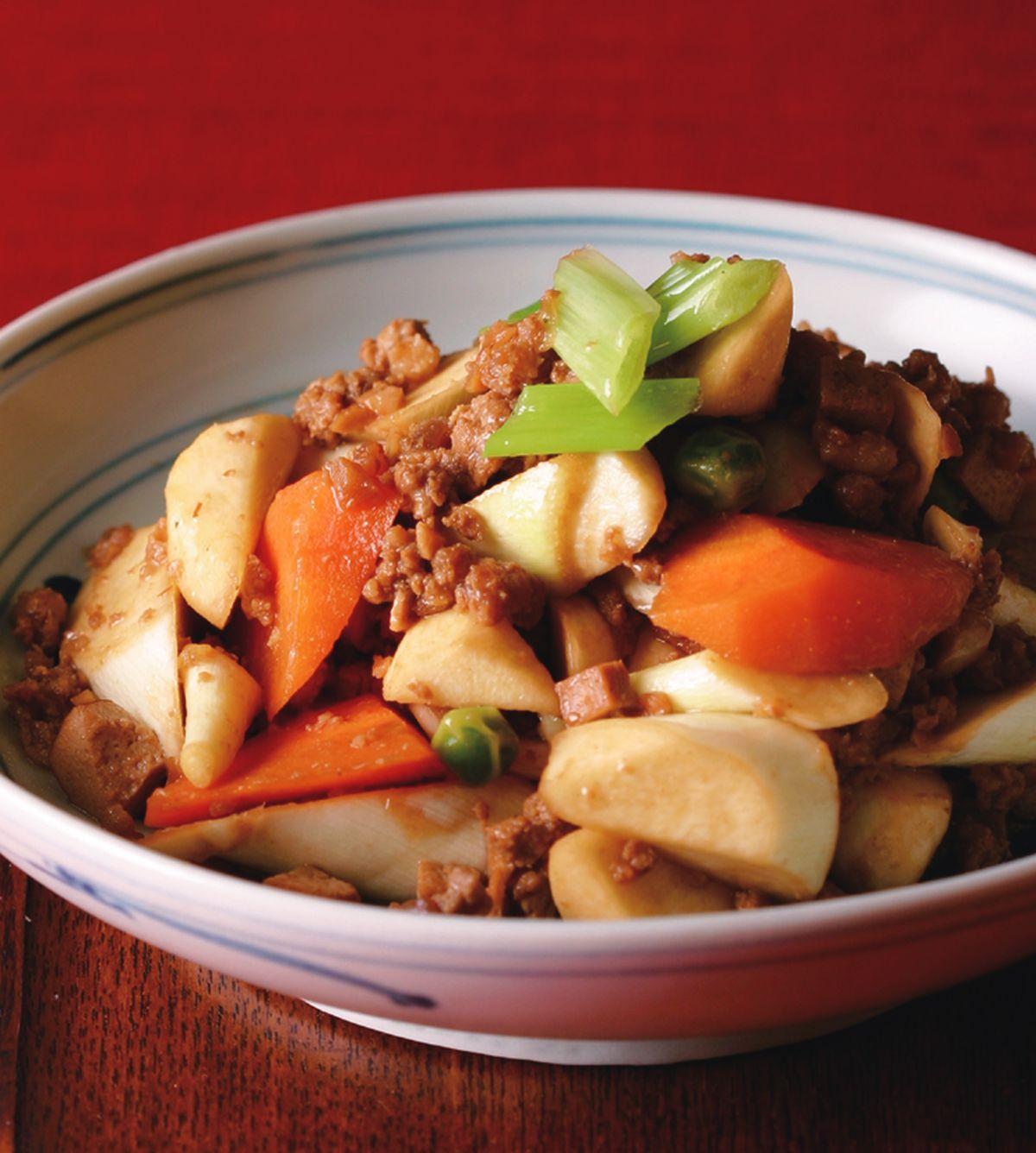 食譜:炸醬炒茭白筍