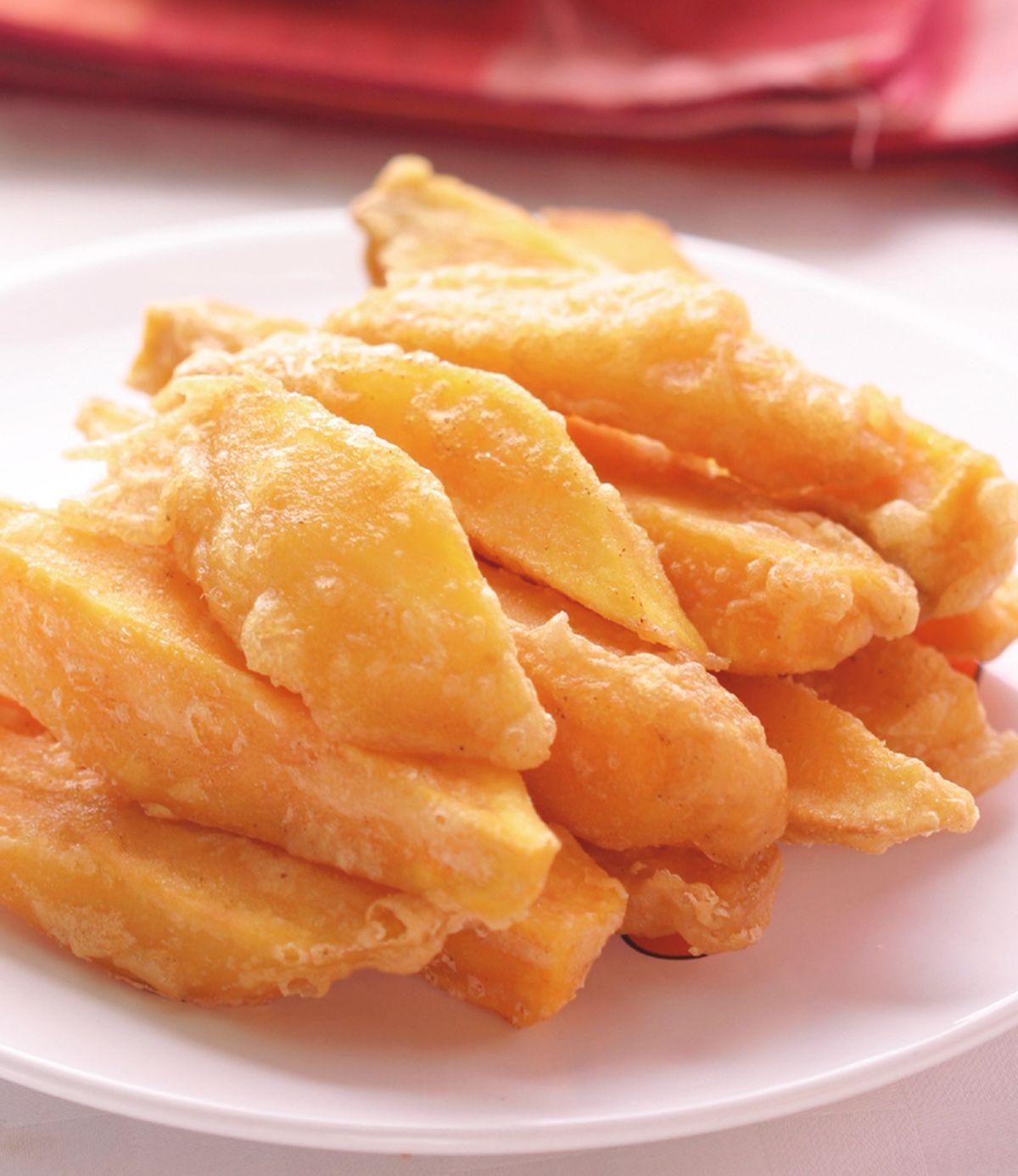 食譜:酥炸杏鮑菇