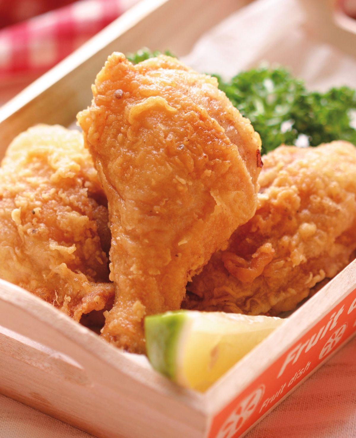 食譜:美式薄皮嫩炸雞