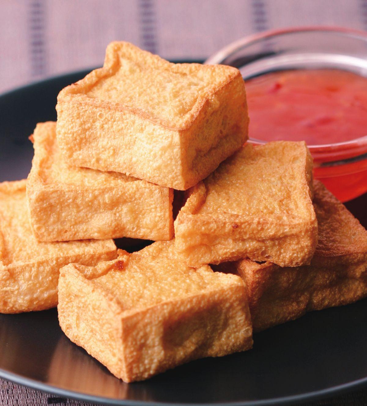 食譜:酥炸百頁豆腐