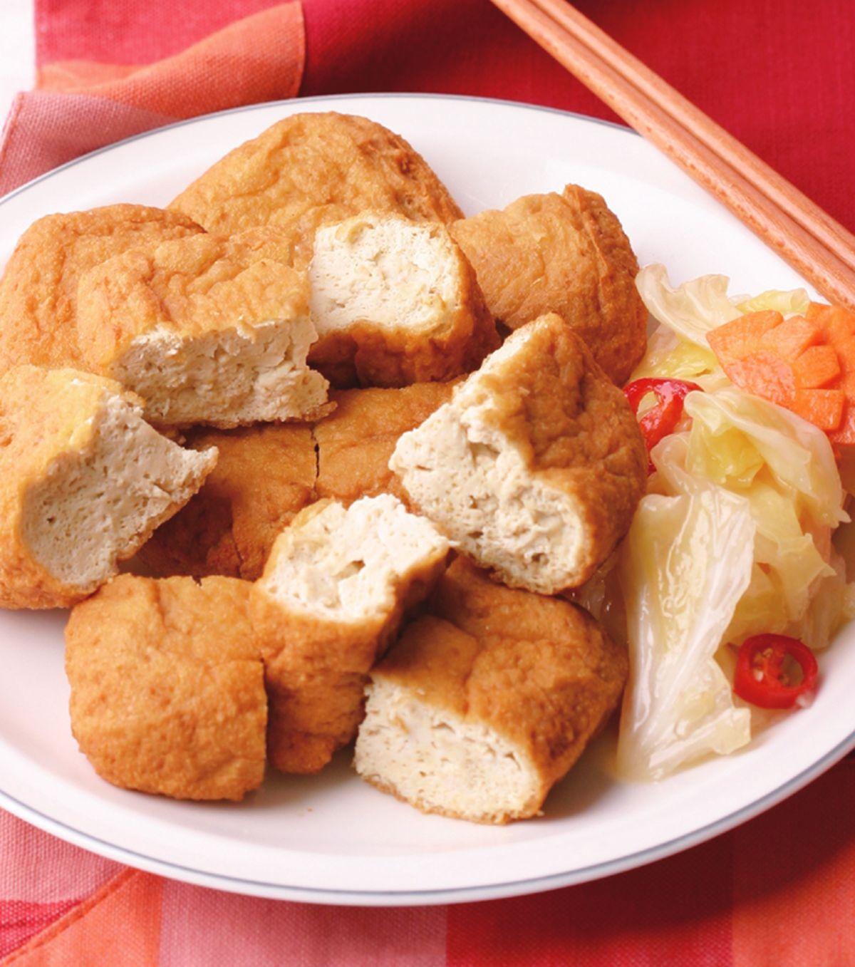 食譜:酥炸臭豆腐