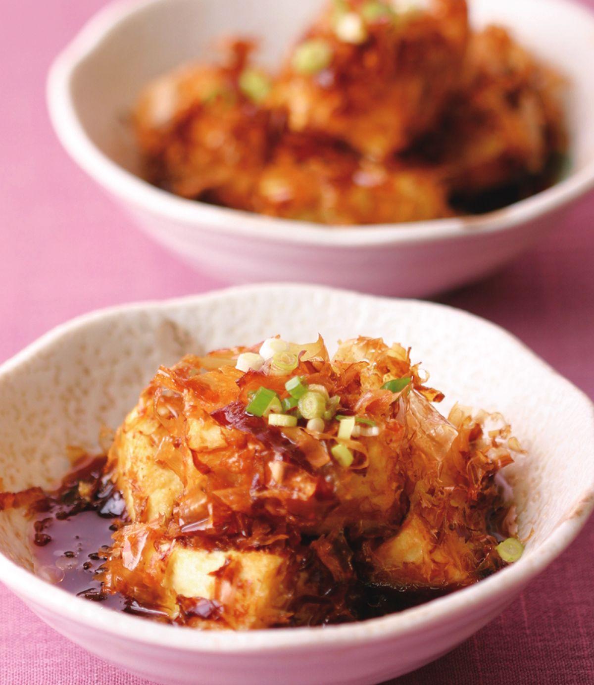 食譜:日式炸豆腐
