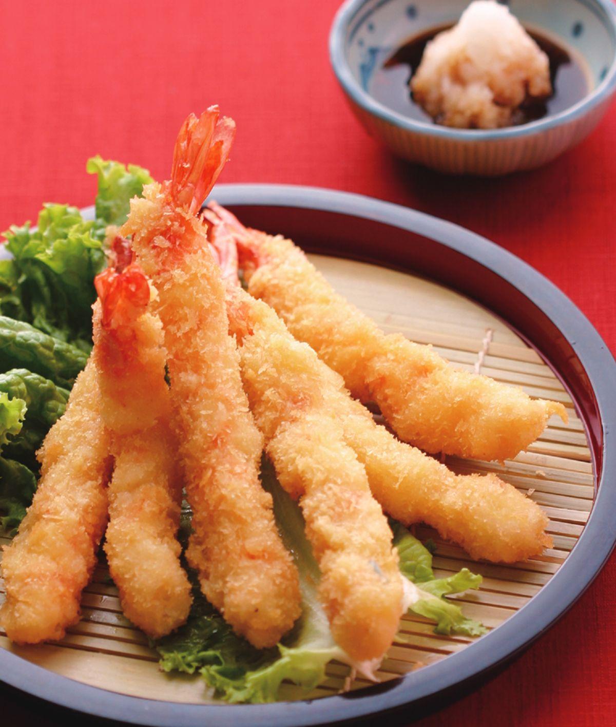 食譜:日式炸蝦(1)