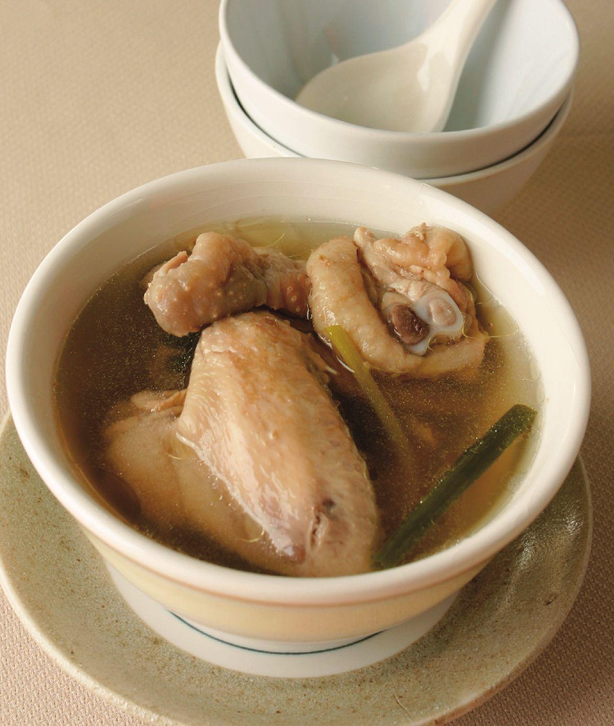 食譜:清燉雞湯