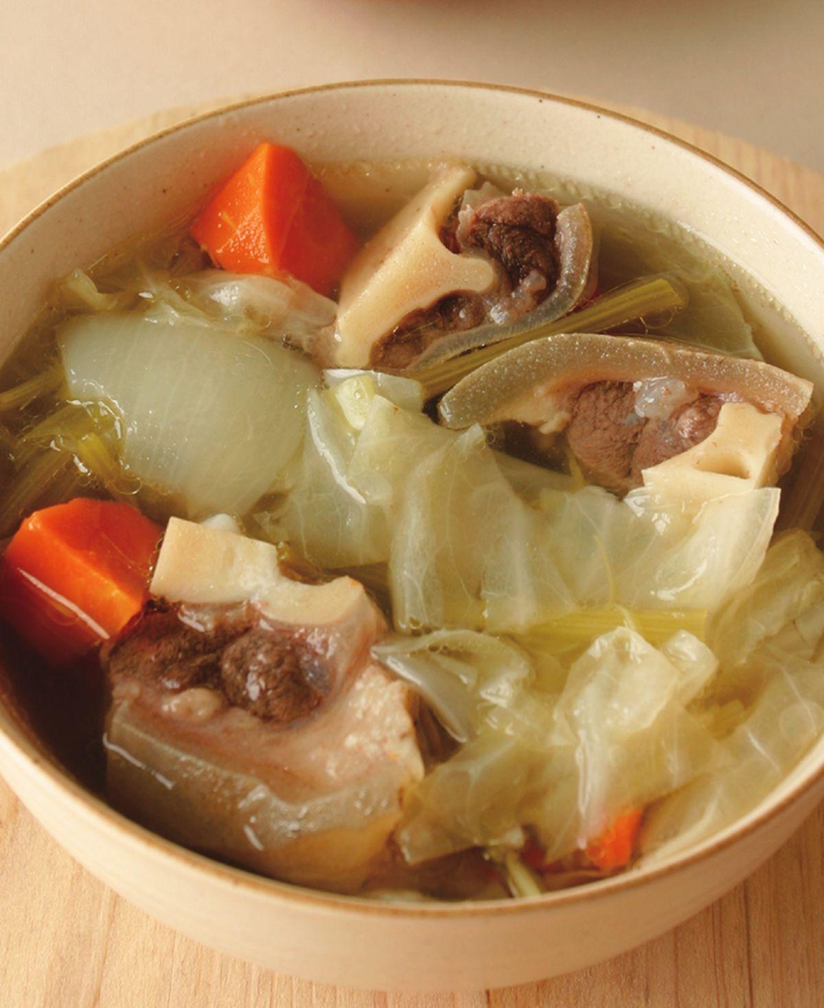 食譜:蔬菜羊肉鍋