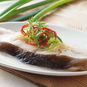 清蒸鱈魚(4)